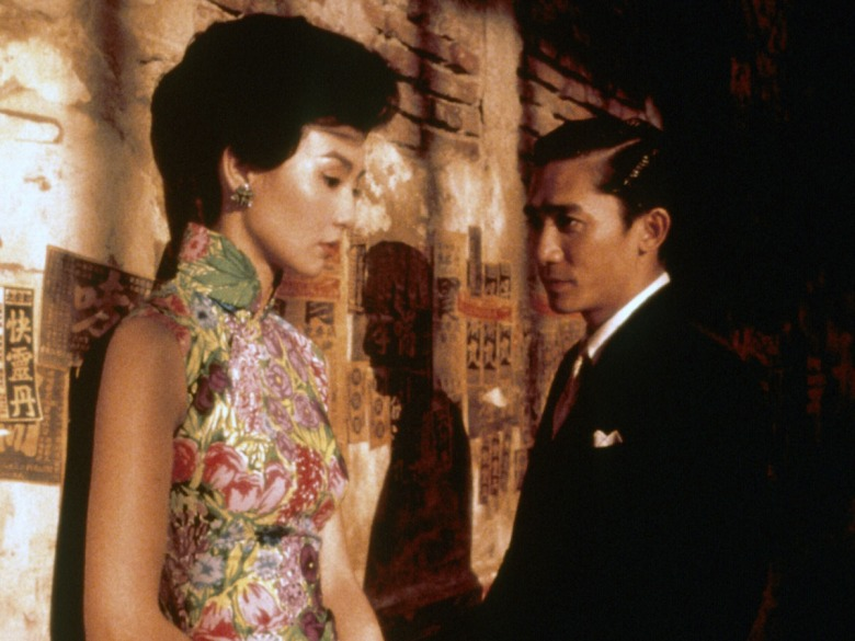 """In the Mood for Love"" Maggie Cheung, Tony Leung Chiu Wai"