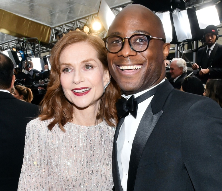 Isabelle Huppert and Barry Jenkins