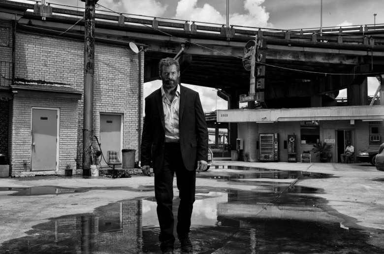 Hugh Jackman stars as Logan/Wolverine in Logan Noir