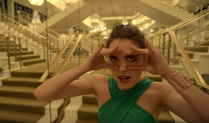 7356356cd Spike Jonze Had Margaret Qualley Dance Like a Tree in Kenzo Audition ...