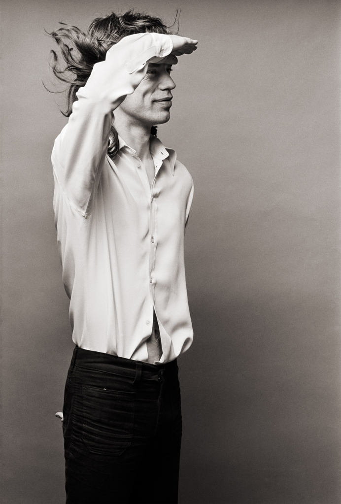 "Mick Jagger by Norman Seeff for ""The Sessions Project"""