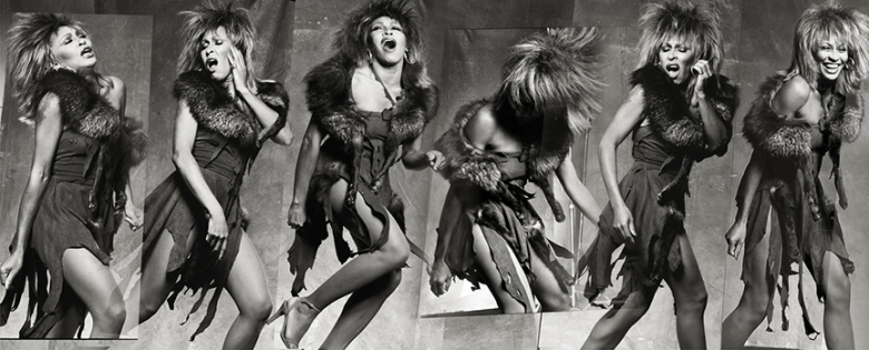 """Tina Turner by Norman Seeff for """"The Sessions Project"""""""
