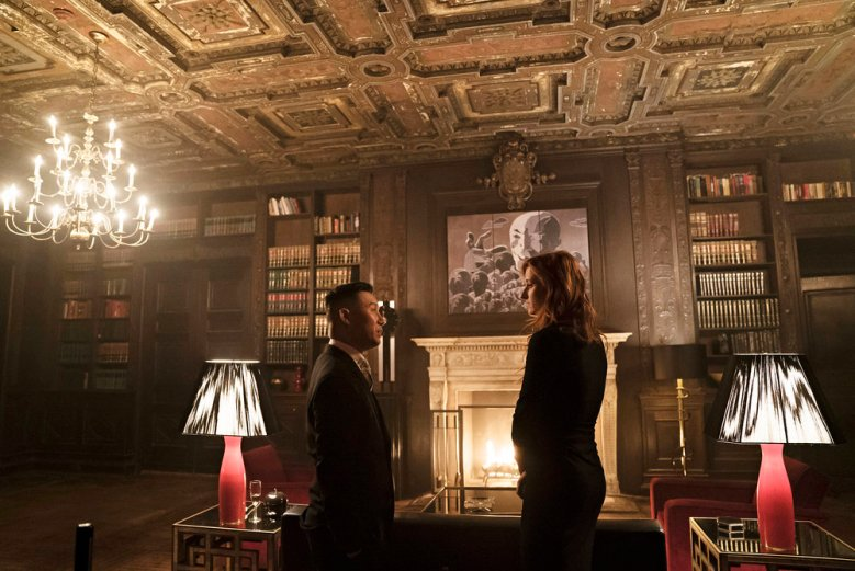 "MR. ROBOT -- ""eps2.3_logic%u2010b0mb.hc"" Episode 205 -- Pictured: (l-r) BD Wong as Whiterose, Grace Gummer as Dominique ""Dom"" DiPierro -- (Photo by: Peter Kramer/USA Network)"