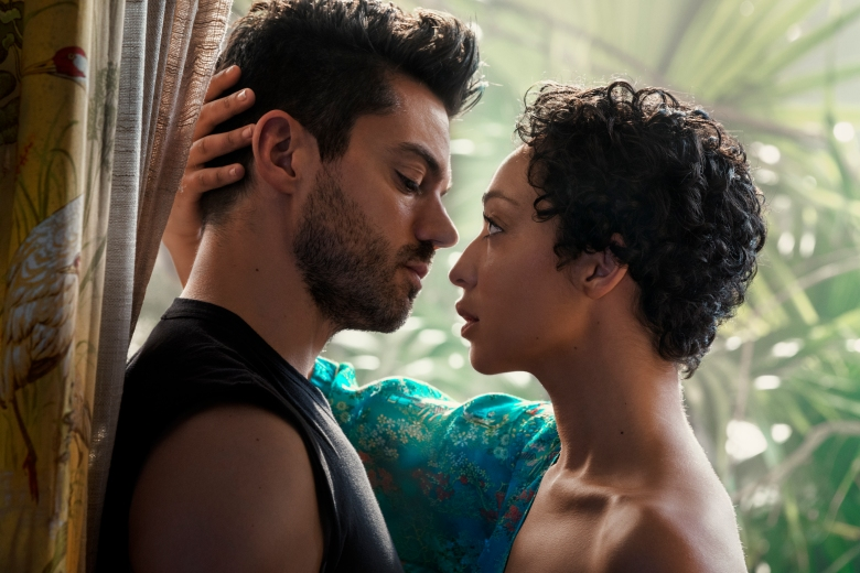 Dominic Cooper as Jesse Custer, Ruth Negga as Tulip O'Hare - Preacher _ Season 2, Gallery - Photo Credit: Marco Grob/AMC