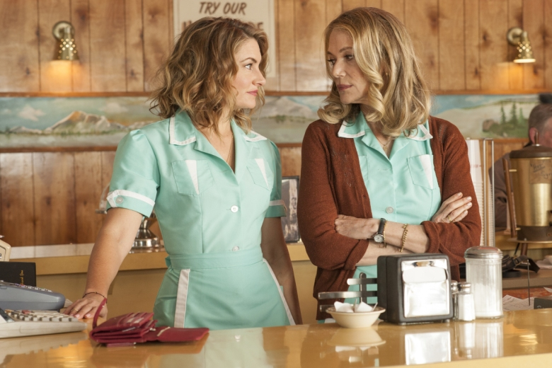 "Madchen Amick and Peggy Lipton, ""Twin Peaks"""