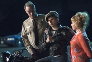 "Harry Goaz, Michael Cera and Kimmy Robertson, ""Twin Peaks"""