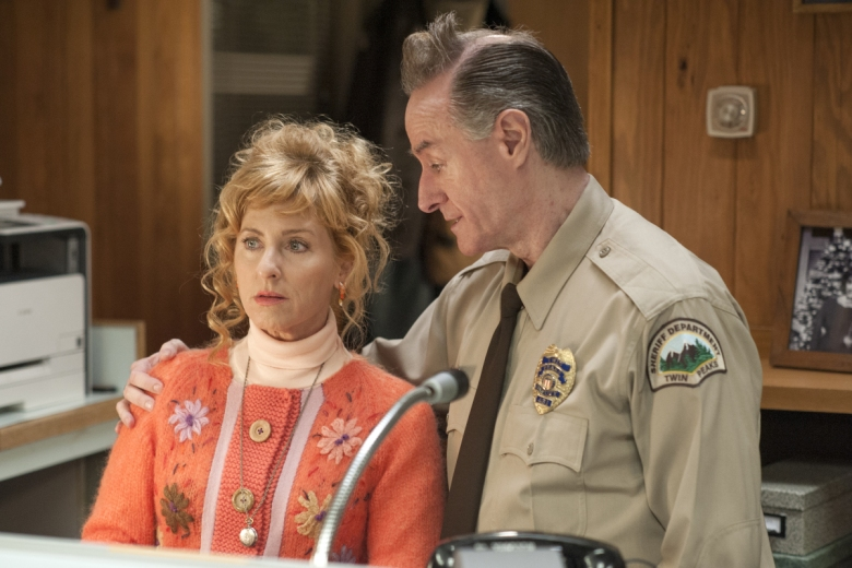 "Kimmy Robertson and Harry Goaz, ""Twin Peaks"""