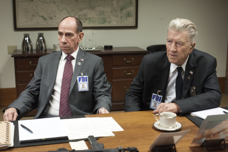"Miguel Ferrer and David Lynch, ""Twin Peaks"""