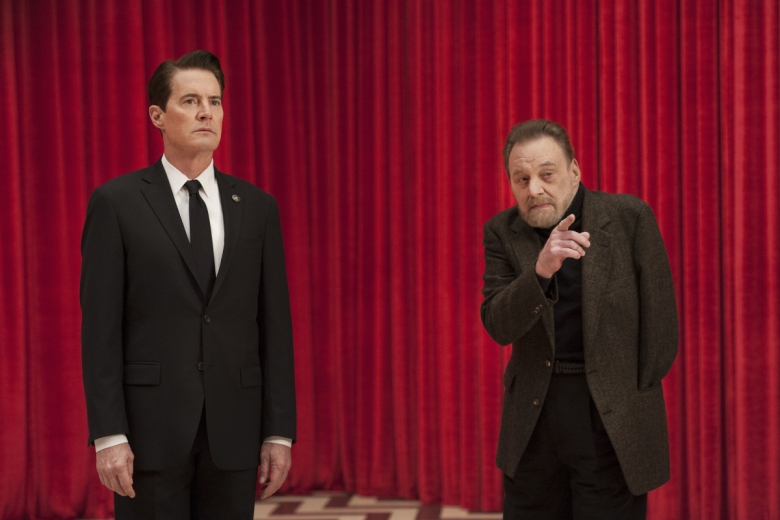 "Kyle MacLachlan and Al Strobel, ""Twin Peaks"""
