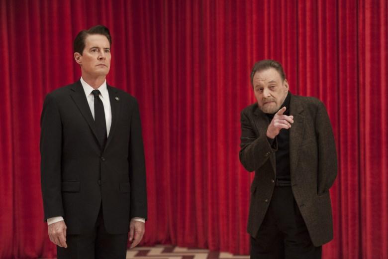 """Kyle MacLachlan and Al Strobel, """"Twin Peaks"""""""