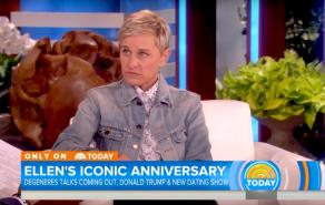 """Ellen DeGeneres, """"Today"""" Show"""