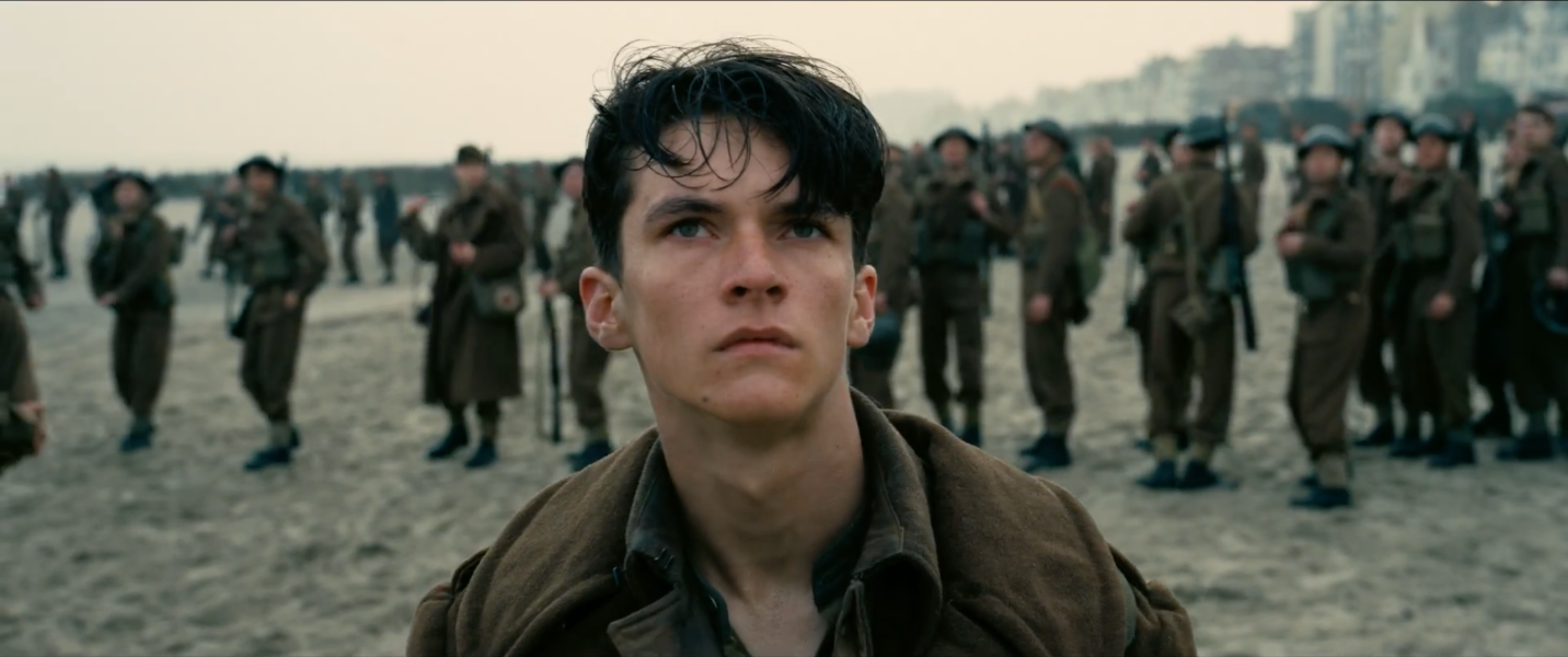 Fionn Whitehead is Tommy