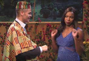 "Chris Pine and Sasheer Zamata, ""Saturday Night Live"""