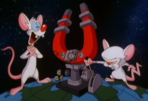 """PInky and the Brain, """"Animaniacs"""""""