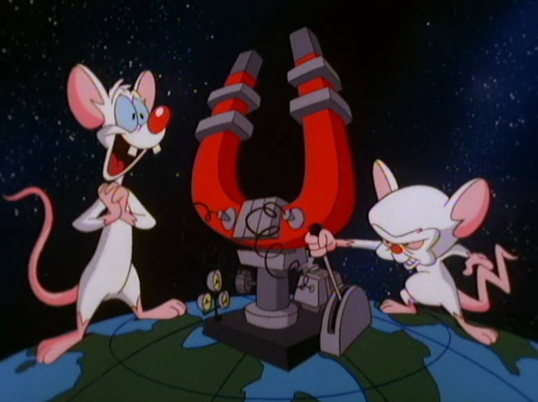 "PInky and the Brain, ""Animaniacs"""