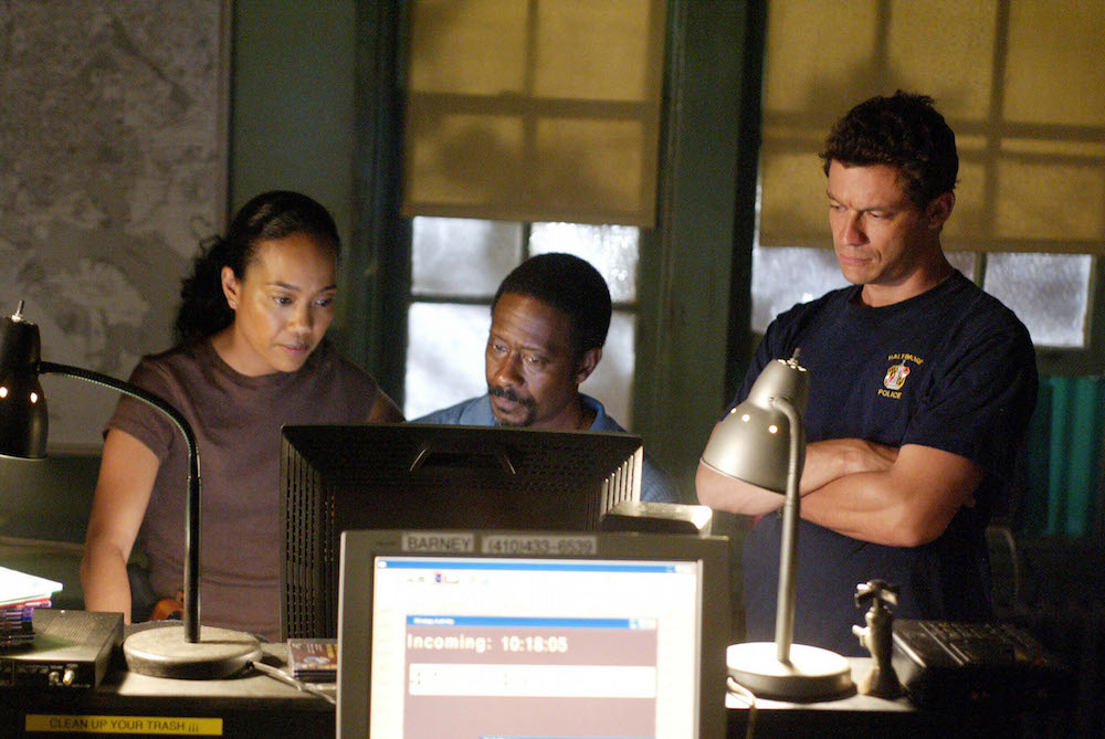 The Wire Dominic West Sonja Sohn Clarke Peters