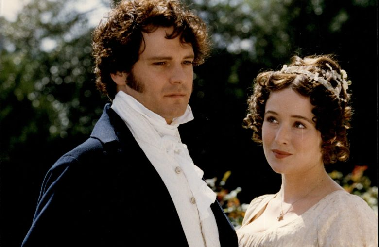 Colin Firth And Jennifer Ehle In The Television Programme Pride And Prejudice.Colin Firth And Jennifer Ehle In The Television Programme Pride And Prejudice.