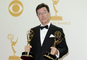 Stephen ColbertThe 65th Annual Primetime Emmy Awards, Press Room, Los Angeles, America - 22 Sep 2013