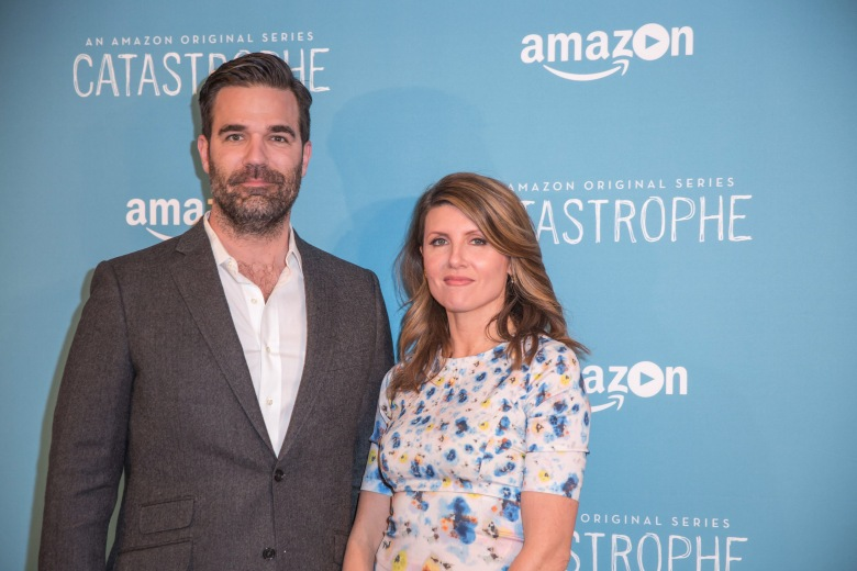 Rob Delaney and Sharon Horgan'Catastrophe' TV series screening, New York, America - 06 Apr 2016