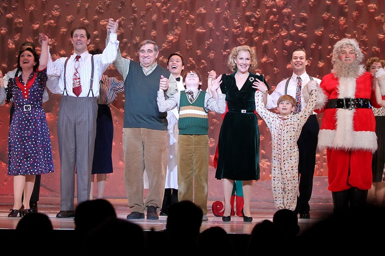 Caroline O'Connor, John Bolton, Dan Lauria, Jake Lucas, Erin Dilly, Noah Baird'A Christmas Story: The Musical' opening night, New York, America - 12 Dec 2013