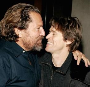 Julian Schnabel and Willem Dafoe'THE SEA INSIDE' FILM SCREENING, NEW YORK, AMERICA - 06 JAN 2005