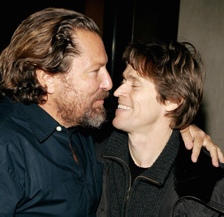Julian Schnabel and Willem Dafoe'THE SEA INSIDE' FILM SCREENING, NEW YORK, AMERICA - 06 JAN 2005
