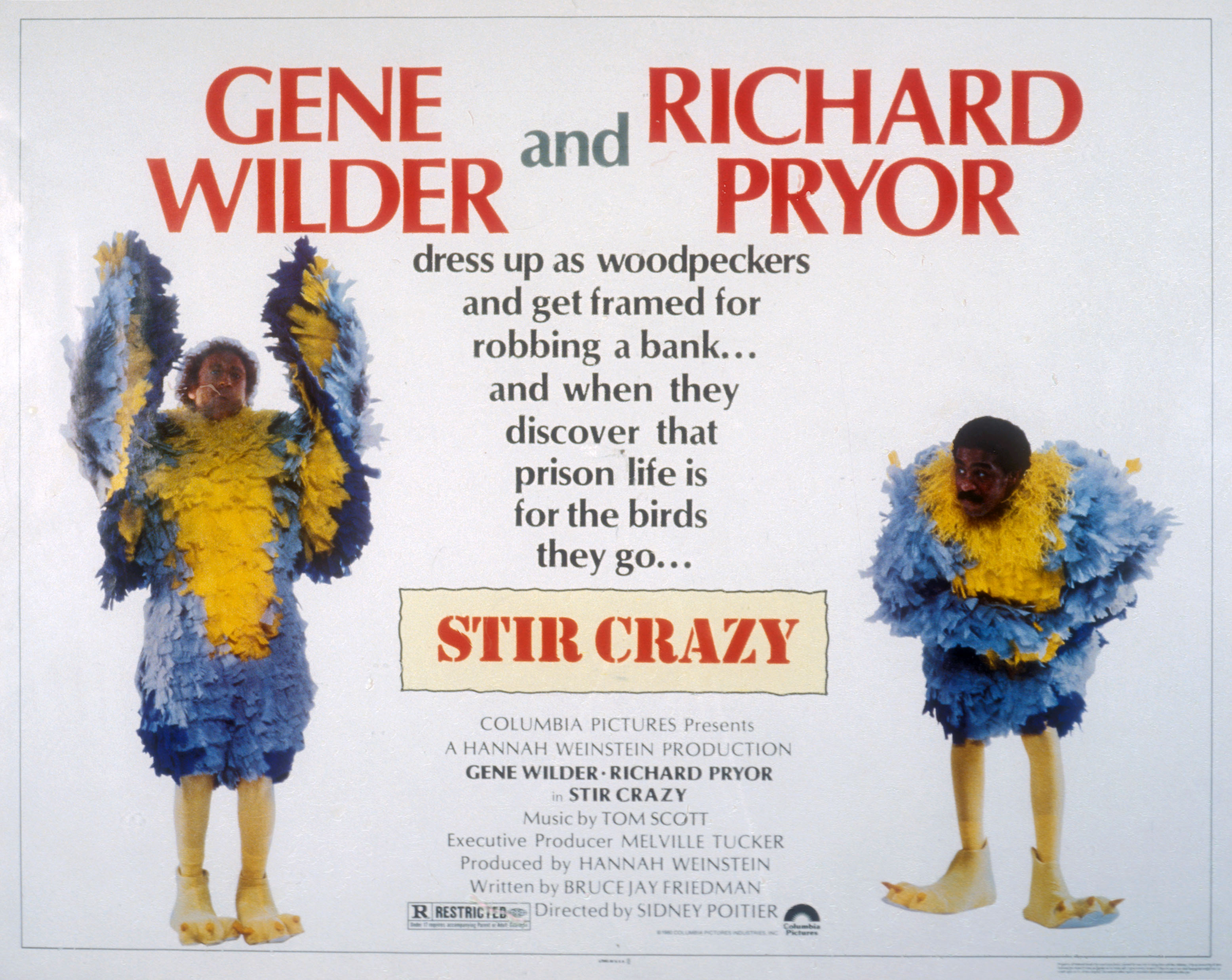 "Why Sidney Poitier's ""Stir Crazy"" Made More Than 'Fate of the ..."