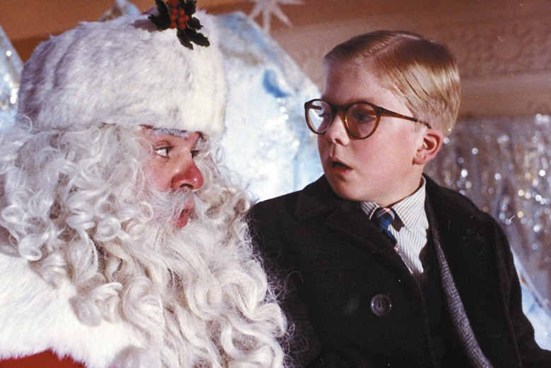 No Merchandising. Editorial Use Only. No Book Cover Usage.Mandatory Credit: Photo by MGM/UA/Kobal/REX/Shutterstock (5880859b)Peter Billingsley, Jeff GillenA Christmas Story - 1983Director: Bob ClarkMGM/UAUSAScene StillFamily