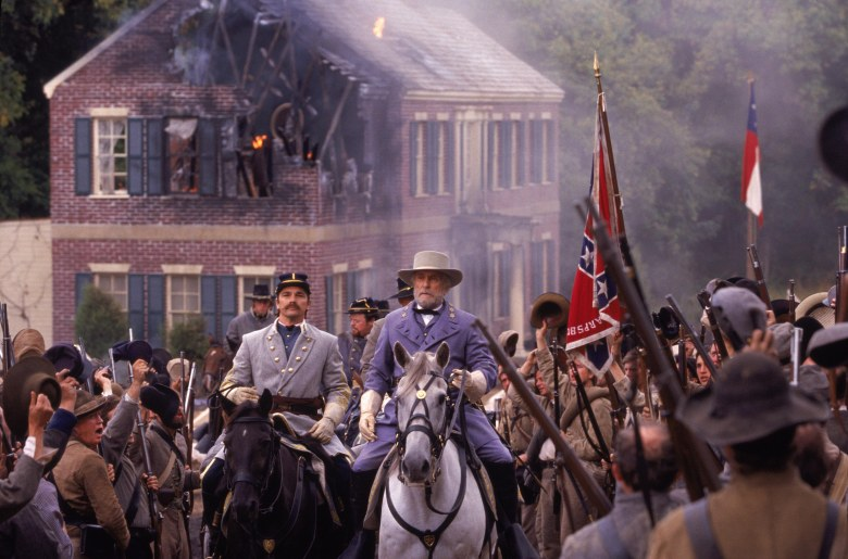 "Robert Duvall starring at General Lee is ""Gods and Generals"""