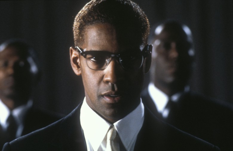 No Merchandising. Editorial Use Only. No Book Cover Usage.Mandatory Credit: Photo by Warner Bros/Largo Internatio/REX/Shutterstock (5884803q)Denzel WashingtonMalcolm X - 1992Director: Spike LeeWarner Bros/Largo International/40 Acres & A MuleUSAScene StillDocumentaryMalcom X
