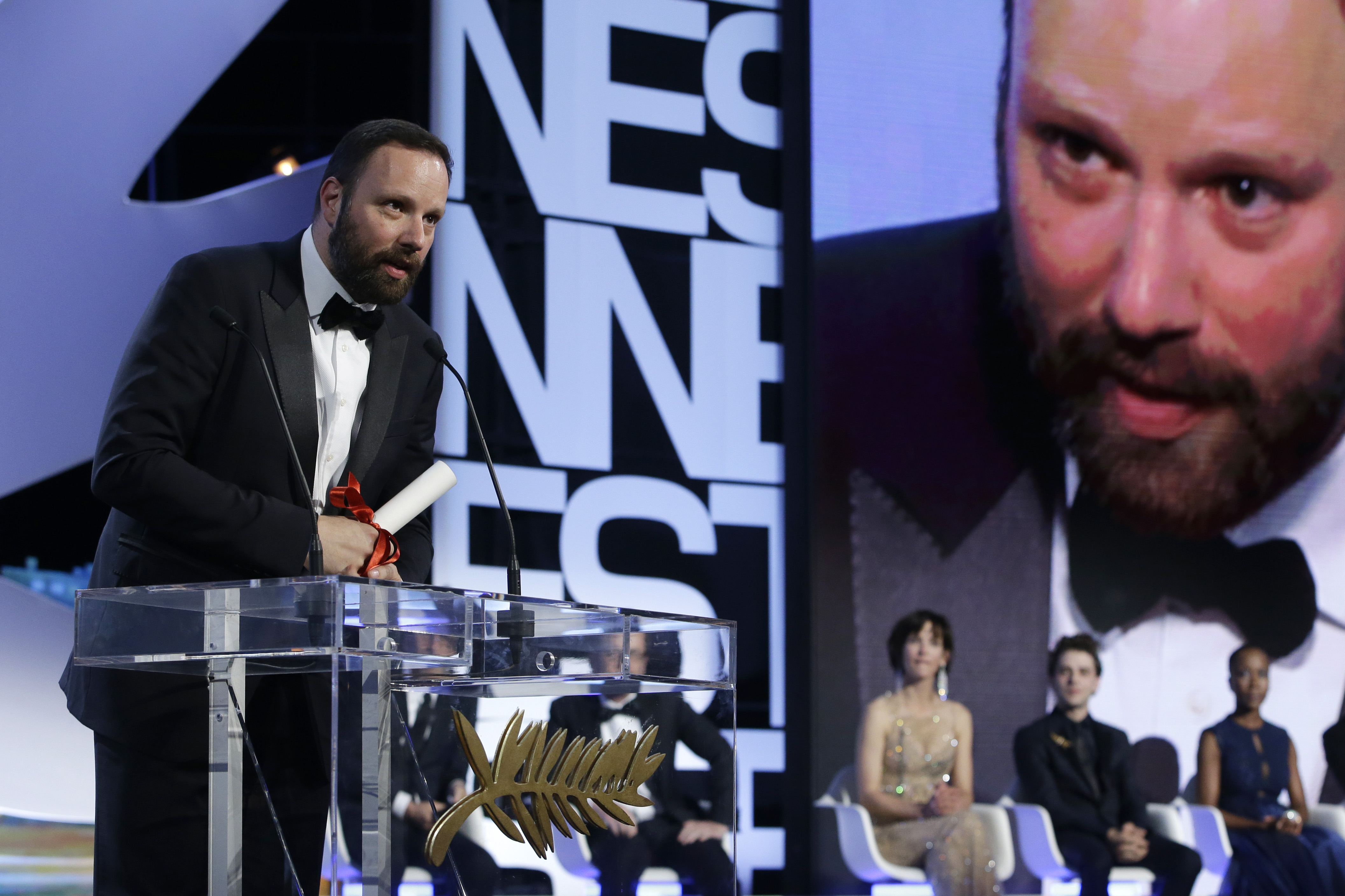Yorgos Lanthimos Cannes The Lobster
