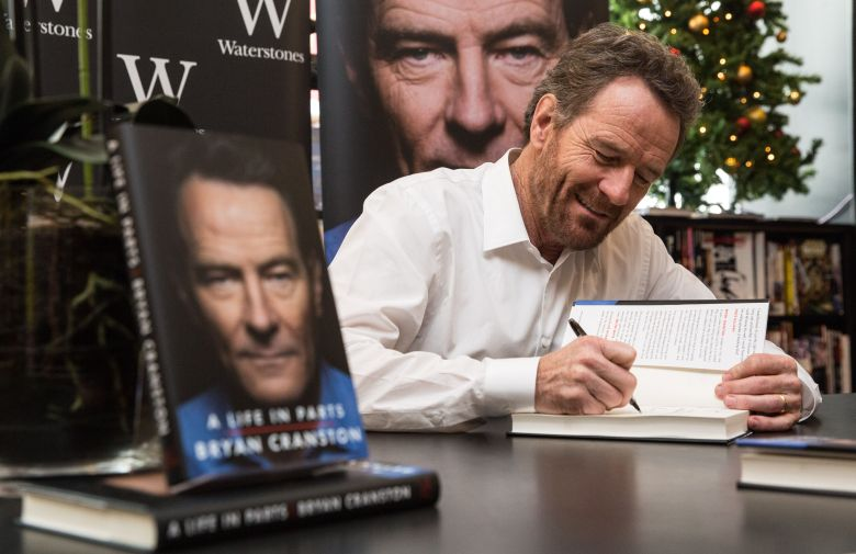 Bryan CranstonBryan Cranston 'A Life In Parts' Book Signing, Waterstones Piccadilly, London, UK - 26 Oct 2016