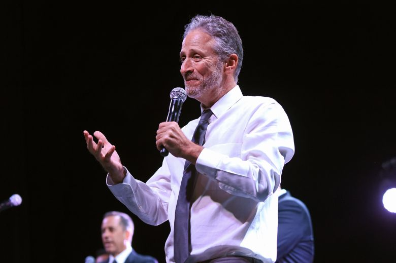 jon stewart takes aim at donald trump and white supremacists indiewire