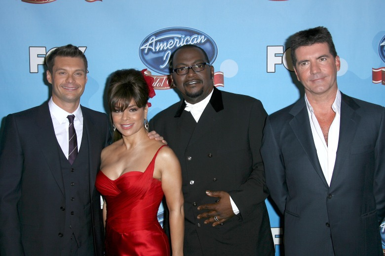 Ryan Seacrest, Paula Abdul, Randy Jackson and Simon CowellAmerican Idol Gives Back 2008, Hollywood, California, America - 06 Apr 2008 American Idol Idol Gives Back Charity event. Money Raised goes to Children's Defense fund, The Global Fund to fight Aids, Tuberculosis and Malaria, Make it Right, Malaria No More, Save the Children US Program and Children's Health Fund. The program airs on March 8th. During the show the Prime Minister donated $200,000.00 to the charity.