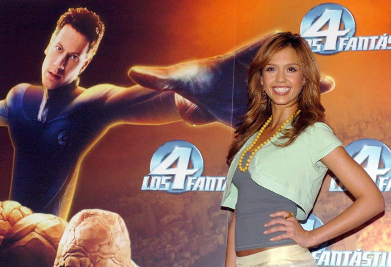 Us Actress Jessica Alba Poses During the Presentation of Her Latest Film 'The Four Fantastics' a New Adaptation of the Marvel Factory's Comic Directed by Tim Story in Madrid on Thursday 14 July 2005 Spain Madrid Spain - the Four Fantastic - Jul 2005