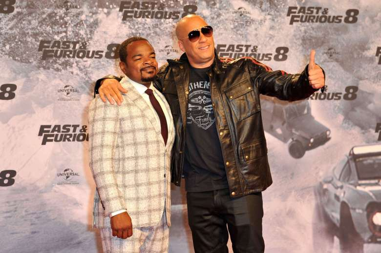 F. Gary Gray (Regisseur / Director) and Vin Diesel'The Fate Of The Furious' film premiere, Berlin, Germany - 04 Apr 2017