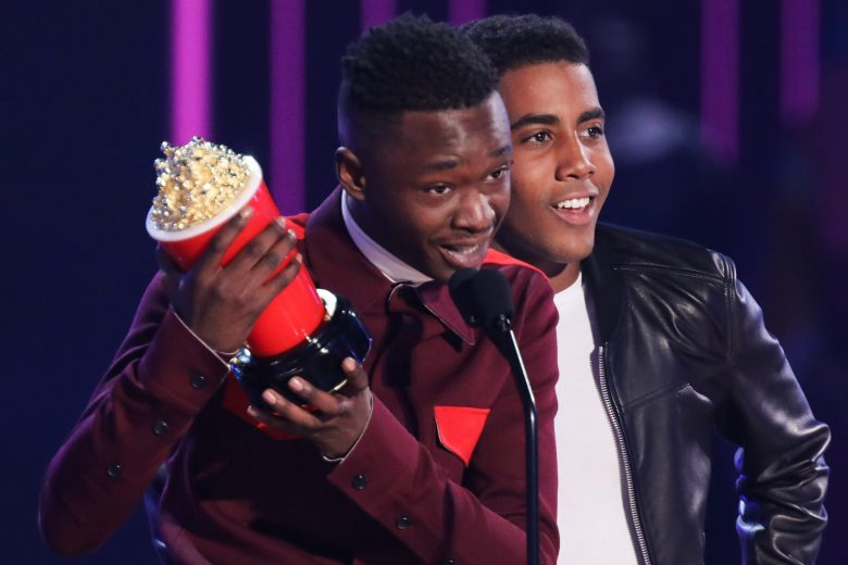 Ashton Sanders and Jharrel JeromeMTV Movie & TV Awards, Show, Los Angeles, USA - 07 May 2017