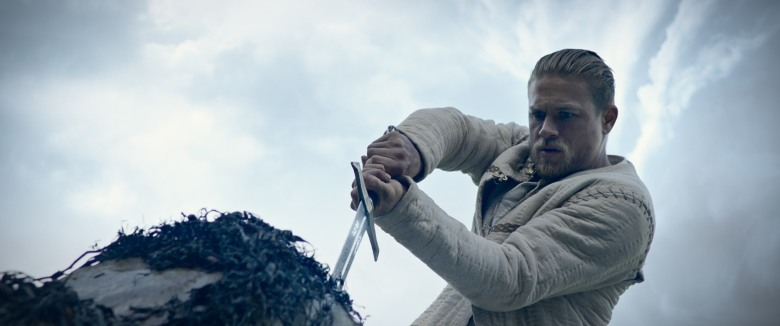 "No Merchandising. Editorial Use Only. No Book Cover UsageMandatory Credit: Photo by Warner Bros./Kobal/REX/Shutterstock (8810910e)Charlie Hunnam""King Arthur: Legend Of The Sword"" Film - 2017"