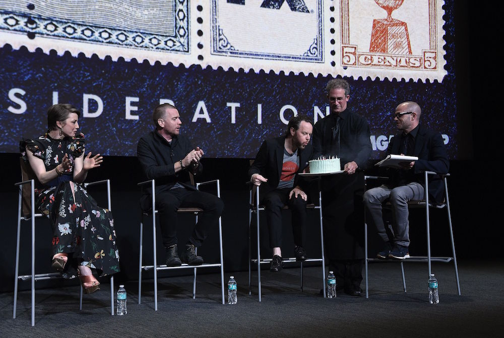 Carrie Coon, Ewan McGregor, Noah Hawley and Damon Lindelof'Fargo' TV show FYC event, Panel, Los Angeles, USA - 11 May 2017