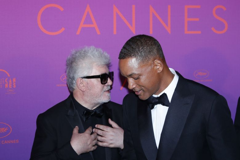 Will Smith and Pedro AlmodovarOpening Dinner - 70th Cannes Film Festival, France - 17 May 2017US actor and jury member Will Smith (R) and Spanish director and jury member Pedro Almodovar (L) arrive for the Opening Dinner of the 70th annual Cannes Film Festival in Cannes, France, 17 May 2017. The festival runs from 17 to 28 May.