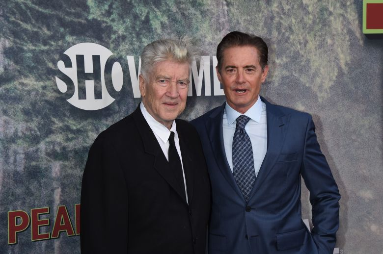David Lynch and Kyle MaclachlanShowtime's TWIN PEAKS TV series premiere, Arrivals, Los Angeles, USA - 19 May 2017