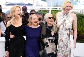 Nicole Kidman, Elisabeth Moss, Jane Campion and Gwendoline Christie'Top of the Lake: China Girl' photocall, 70th Cannes Film Festival, France - 23 May 2017