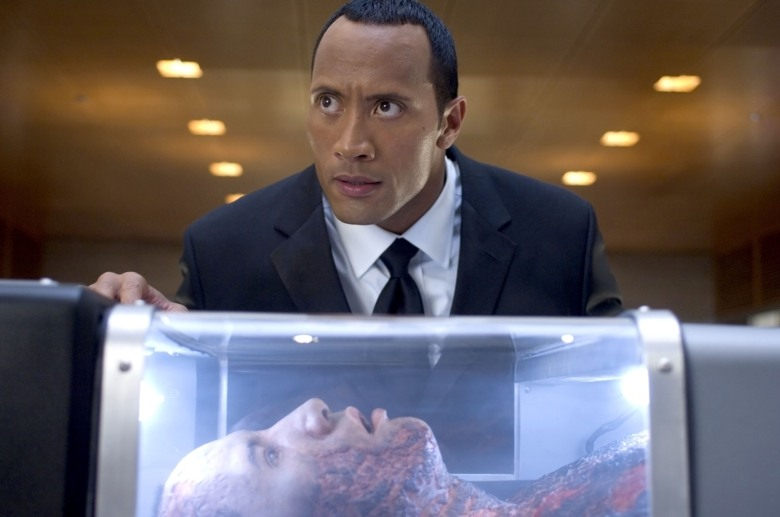 SOUTHLAND TALES, The Rock, 2006. ©Universal/courtesy Everett Collection