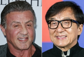 Sylvester Stallone, Jackie Chan