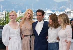 Elle Fanning Nicole Kidman Colin Farrell Sofia Coppola Kirsten Dunst'The Beguiled' photocall Cannes