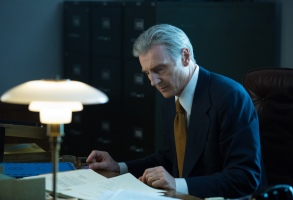 """Liam Neeson in """"The Silent Man"""""""