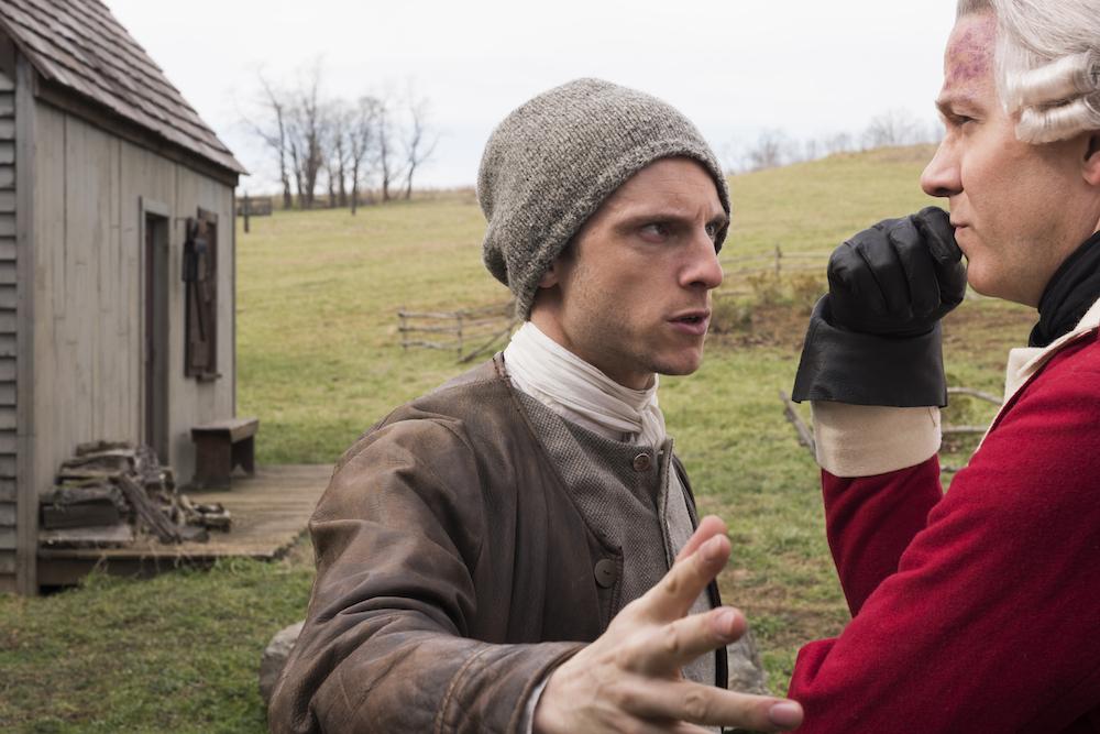Jamie Bell as Abe Woodhull- TURN: Washington's Spies _ Season 3, Episode 9 - Photo Credit: Antony Platt/AMC