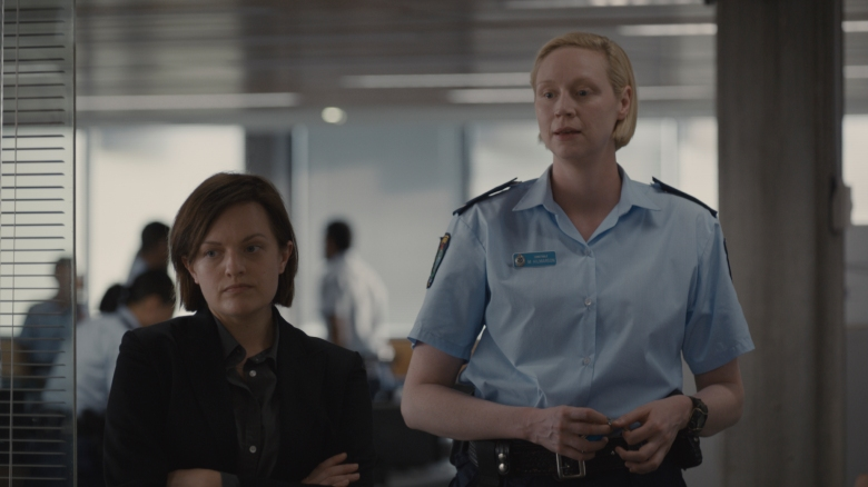 Robin Griffin (Elisabeth Moss) and Miranda