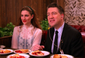"Madchen Amick and David Lynch, ""Twin Peaks"""