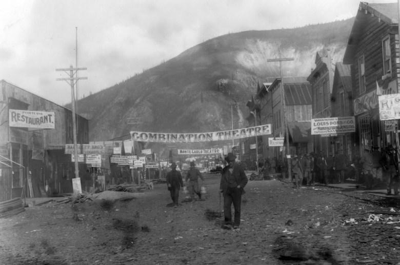 Bill Morrison Dawson City Frozen Time